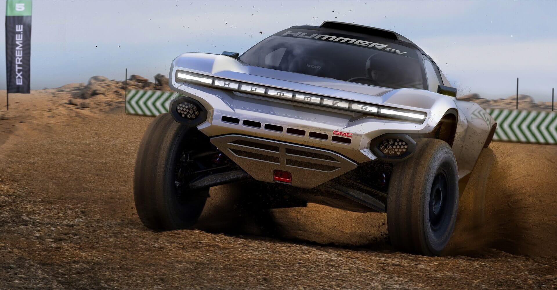 GMC объединились с Chip Ganassi Racing в серии Off-Road гонок Extreme E