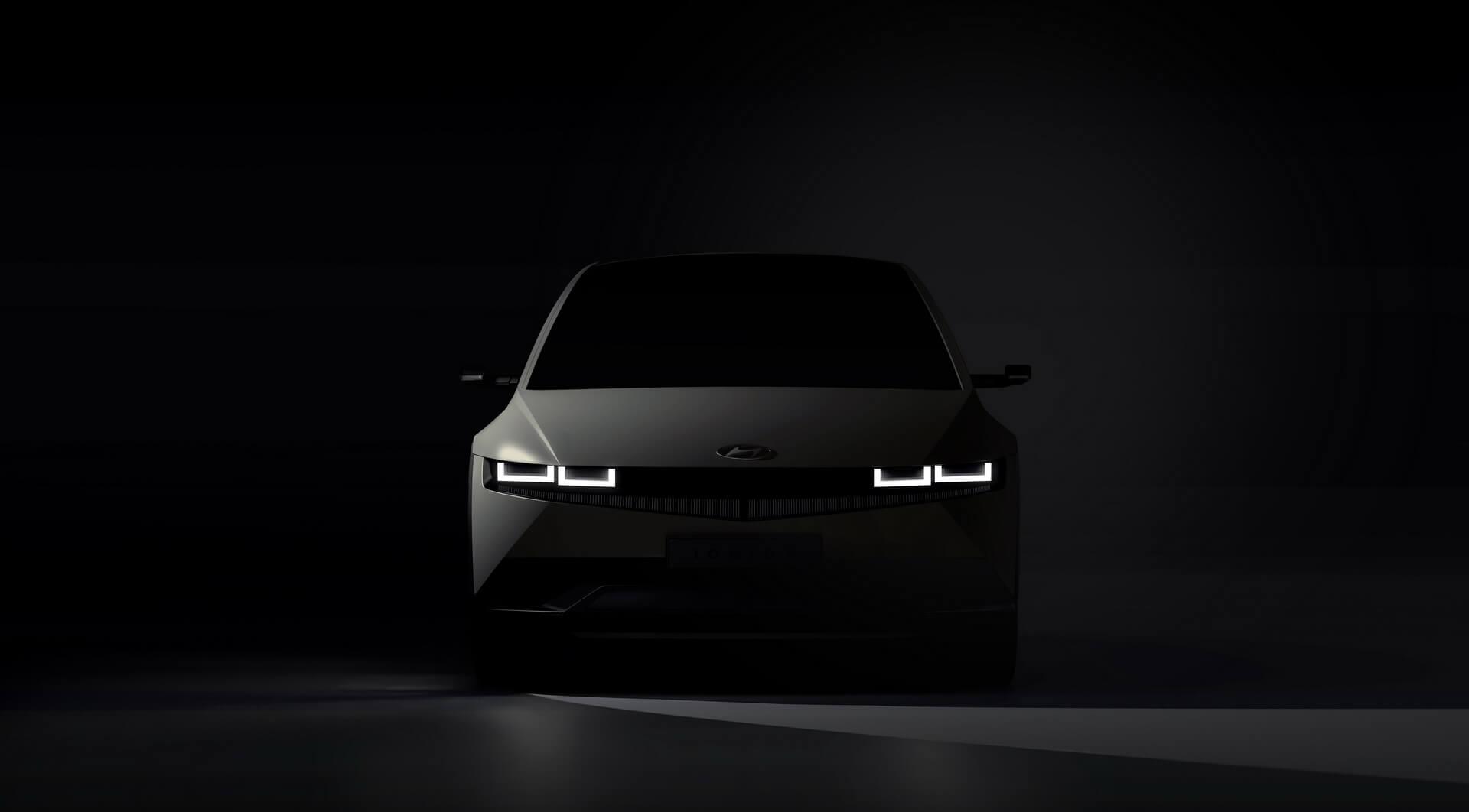 Изображение электрического кроссовера Hyundai IONIQ 5