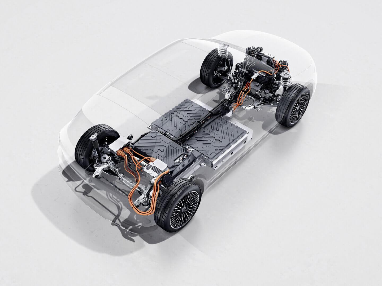 Силовая установка Mercedes-Benz EQA