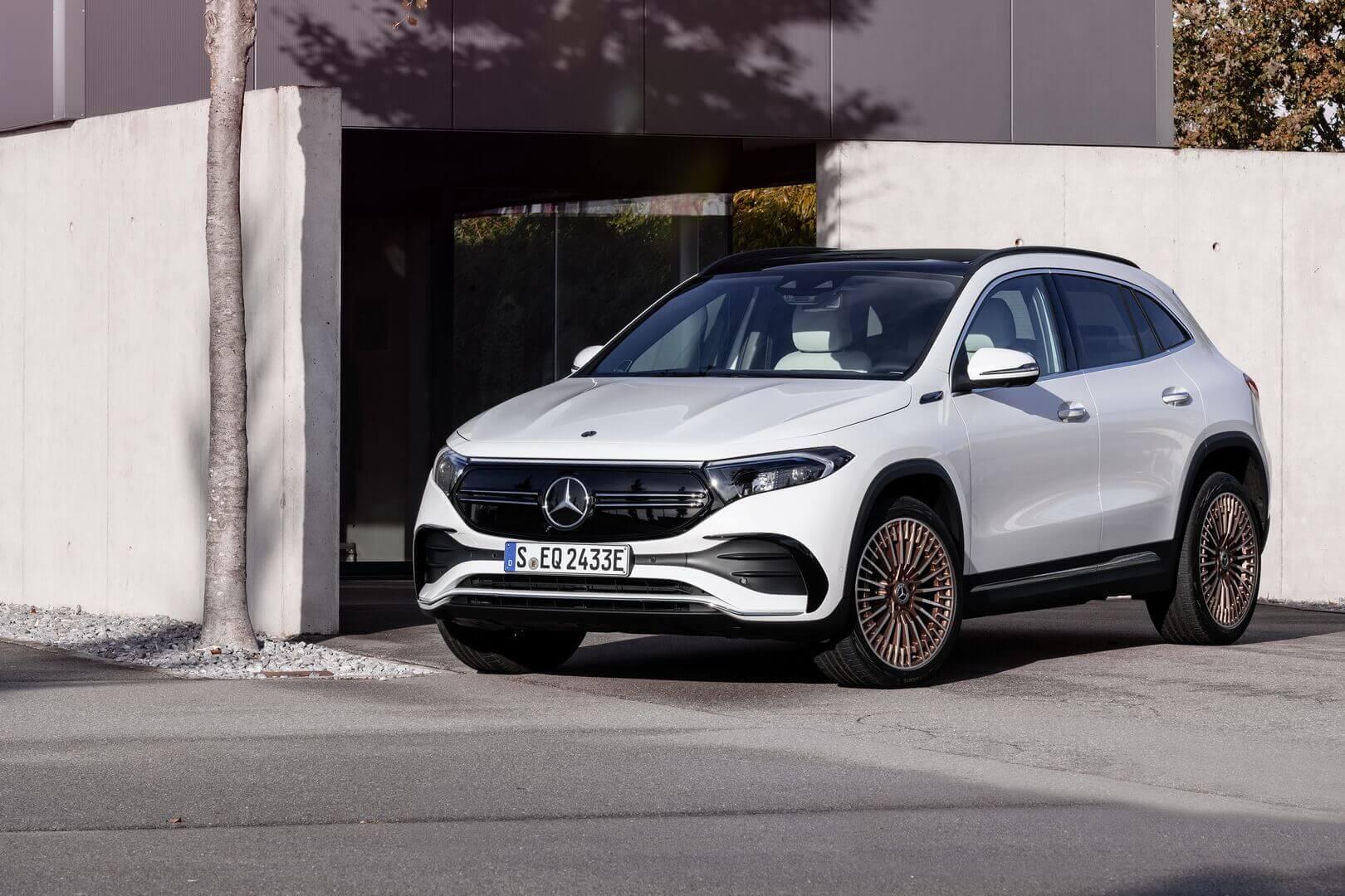 Mercedes-Benz EQA может быть первым в линейке AMG