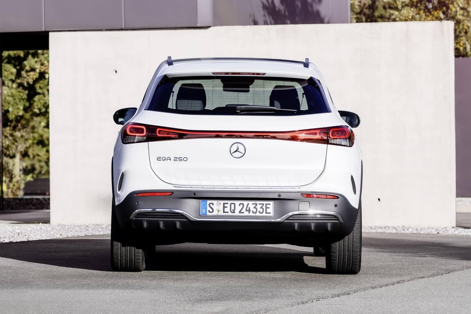 EQA: начальная модель влинейке электрической серии Mercedes-EQ
