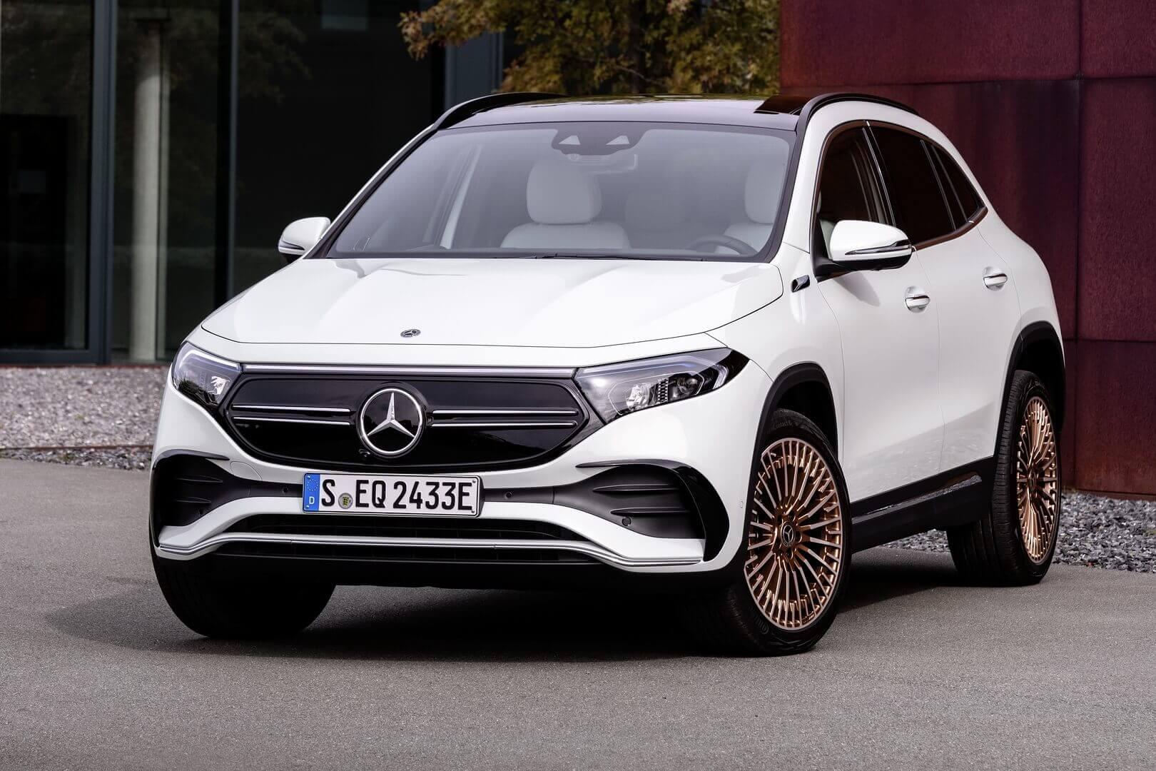 Mercedes-Benz представляет компактный электрический кроссовер EQA