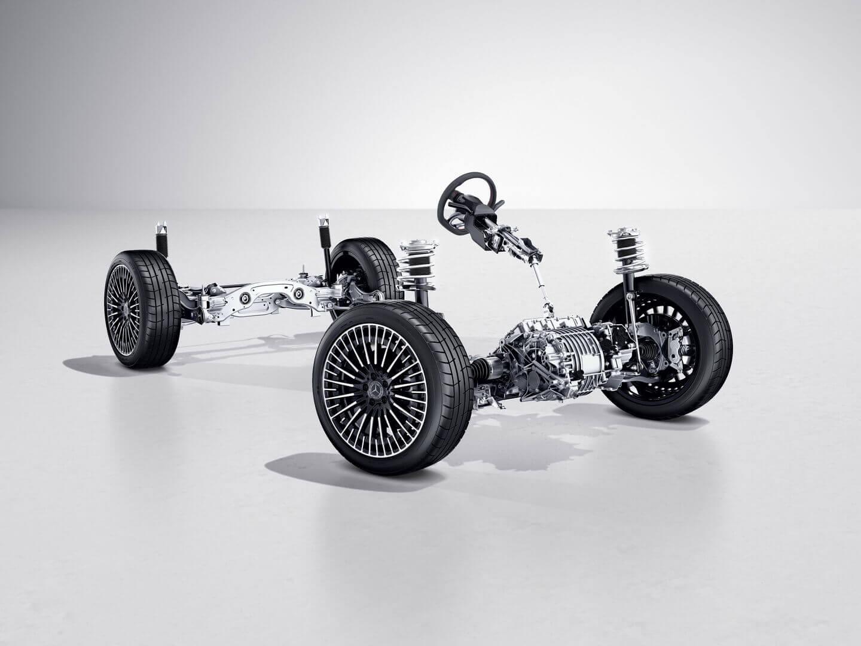 Переднеприводная трансмиссия Mercedes-Benz EQA 250