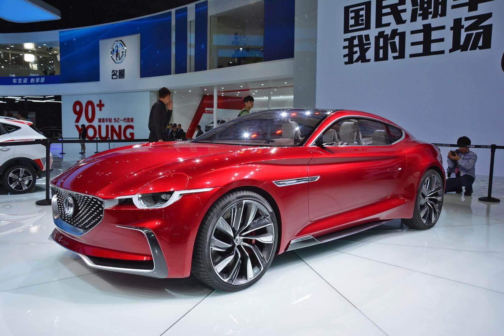 Электрический спорткар MG на базе концепта E-Motion запланирован на конец 2021 года