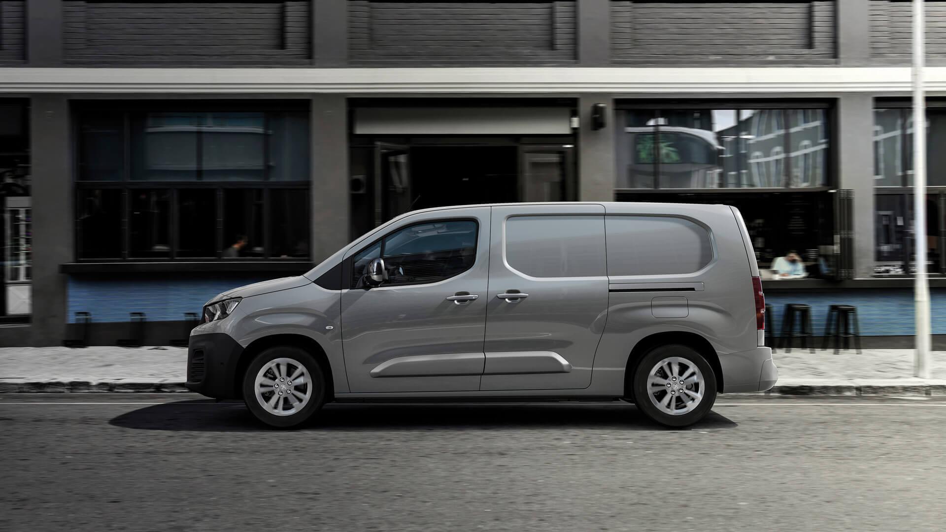 Полностью электрический компактный фургон следующего поколения Peugeot e-Partner