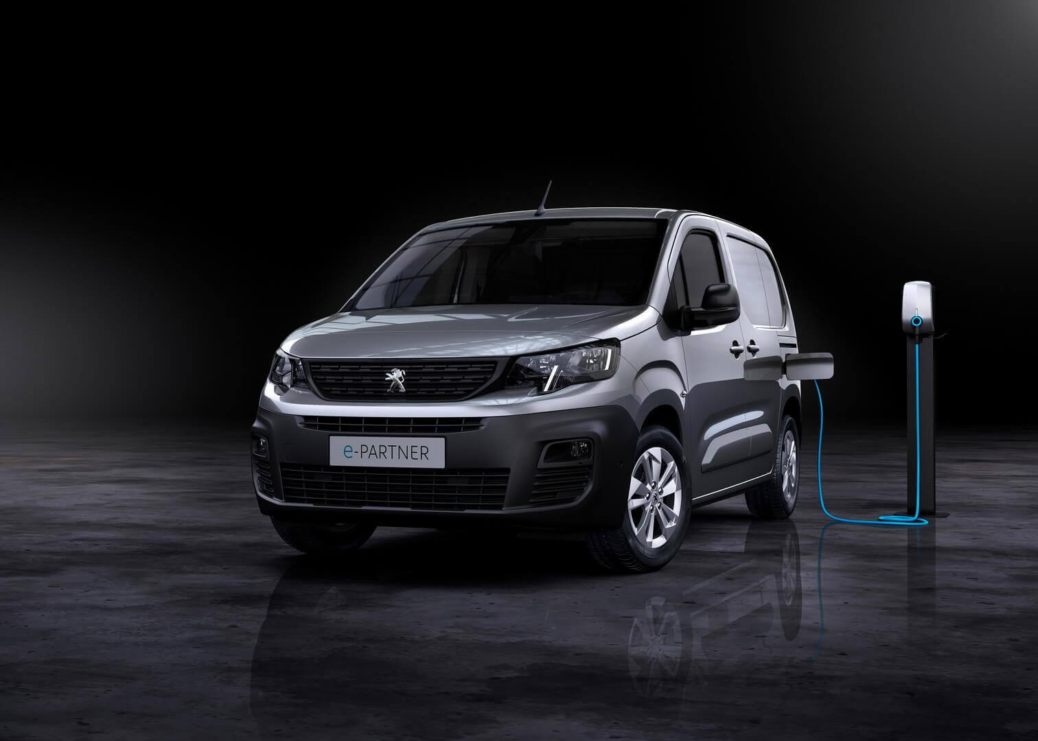Электрический фургон Peugeot e-Partner