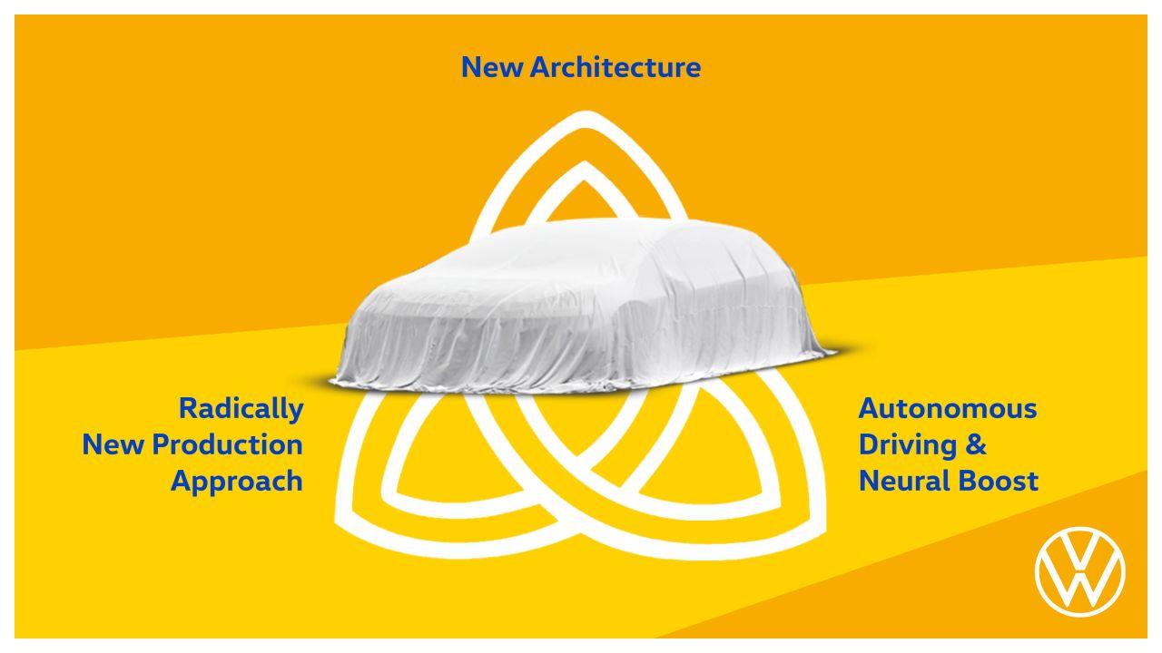 Проект Trinity: Volkswagen анонсировал электромобиль следующего поколения сфункциями «позапросу»