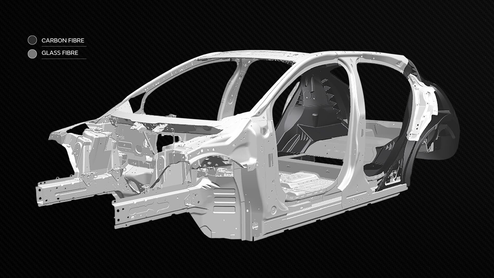 Проект Tucana: JLR разрабатывает инновационные композитные материалы для будущих электромобилей