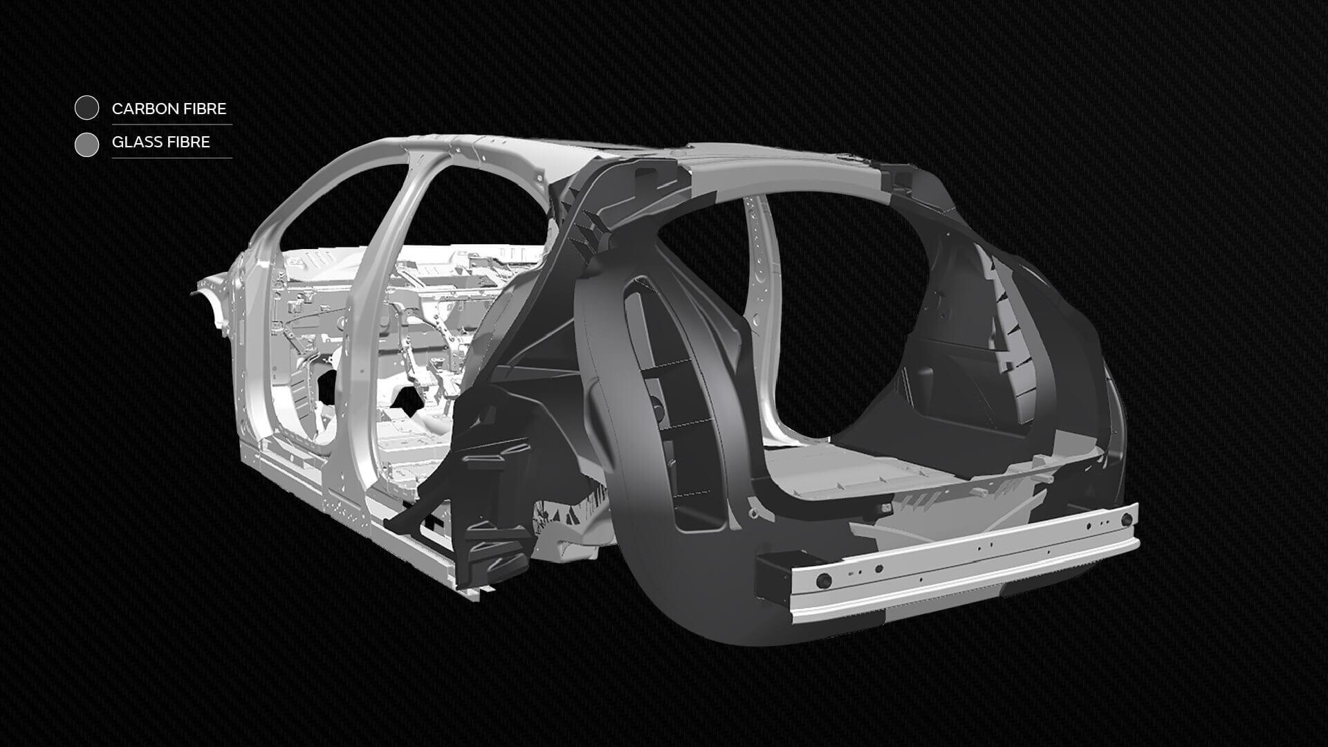 Компания Jaguar Land Rover будет производить электрические автомобили будущего из усовершенствованных композитных материалов