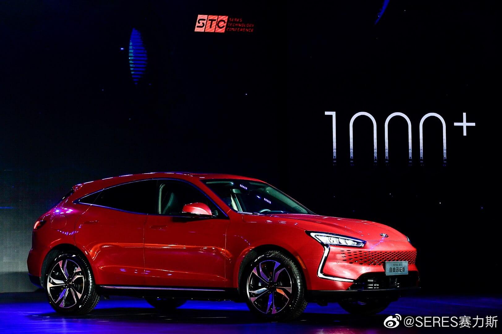 Представлен первый в мире серийный электромобиль на платформе Huawei с запасом хода более 1000 км