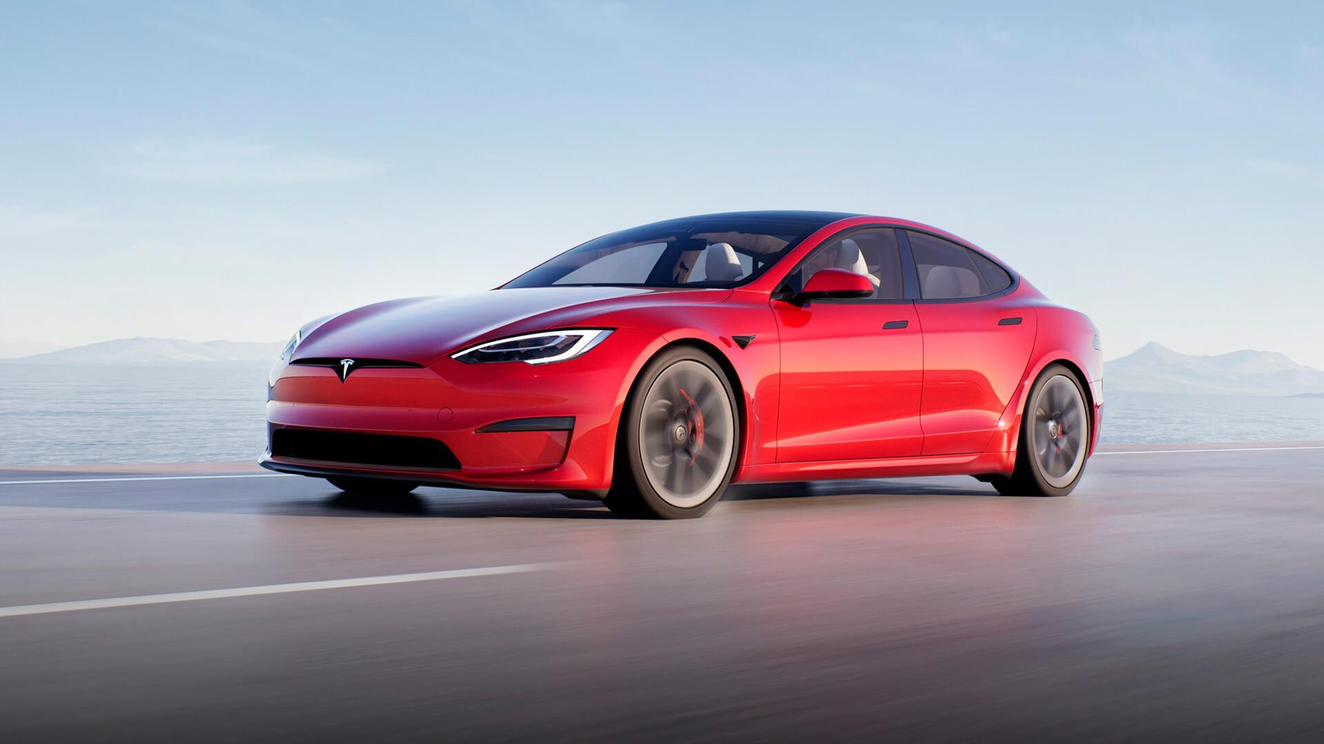 Обновленная Tesla Model S 2021 года