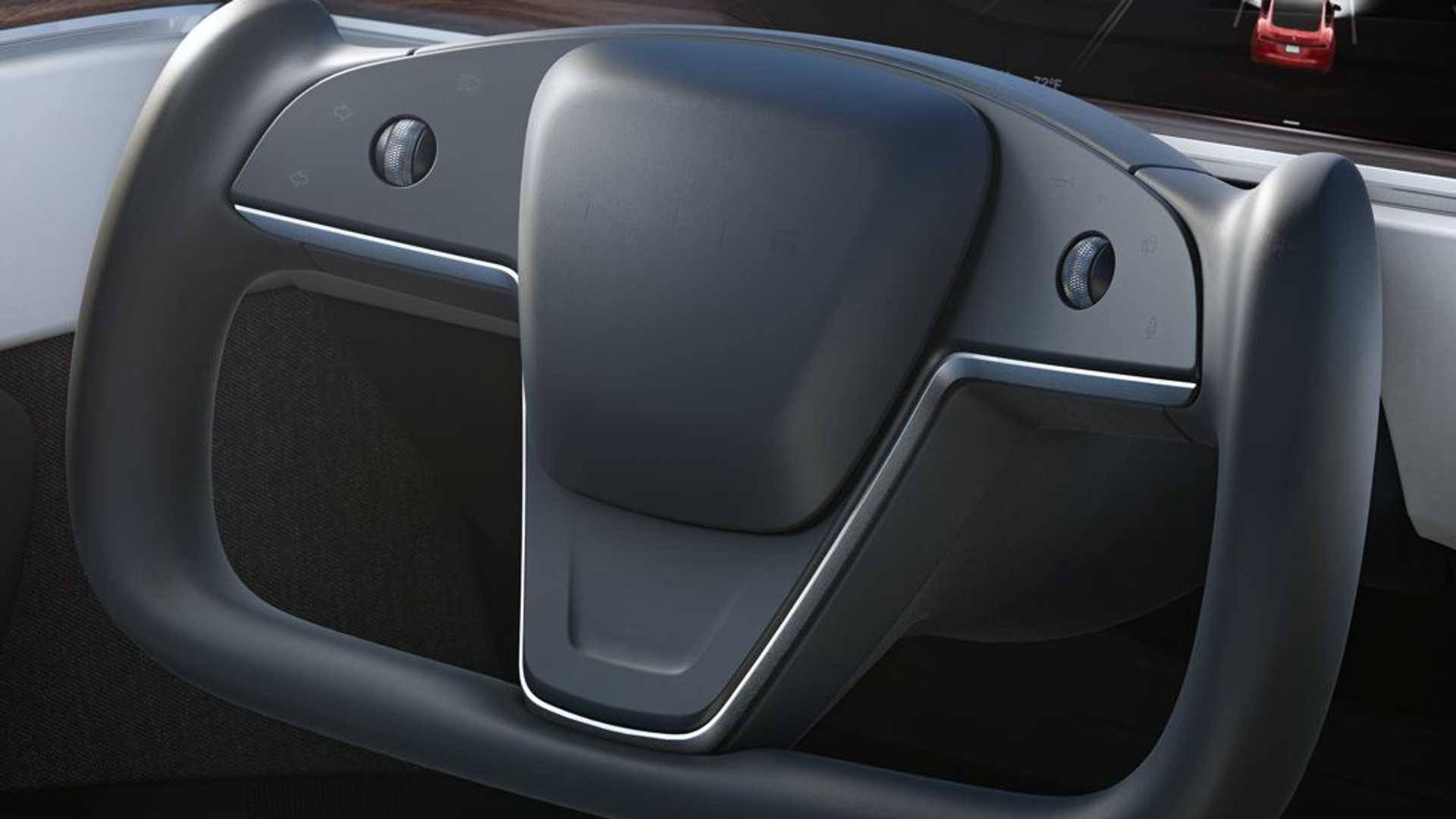 Илон Маск подтвердил, что Tesla не будет предлагать стандартное рулевое колесо на новых Model S/X