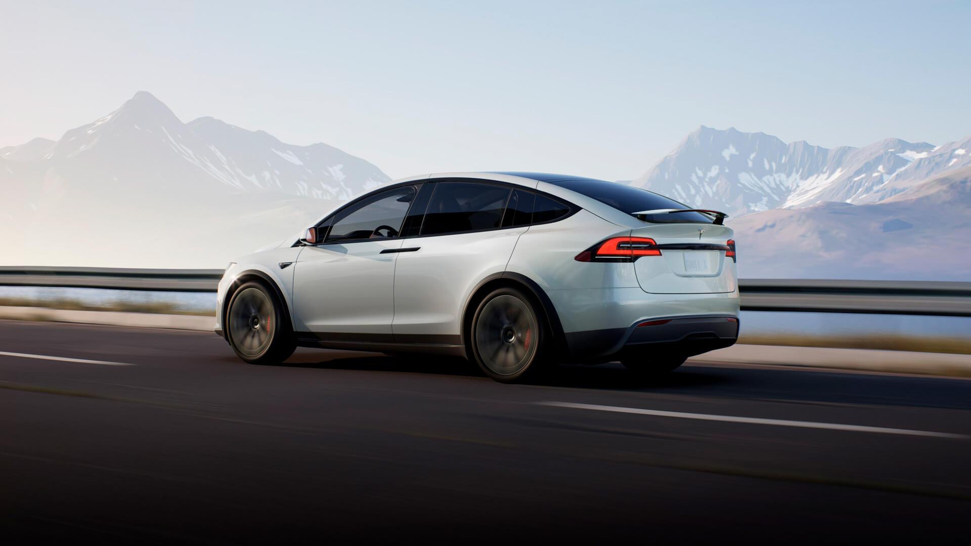 Обновленная Tesla Model X 2021 года