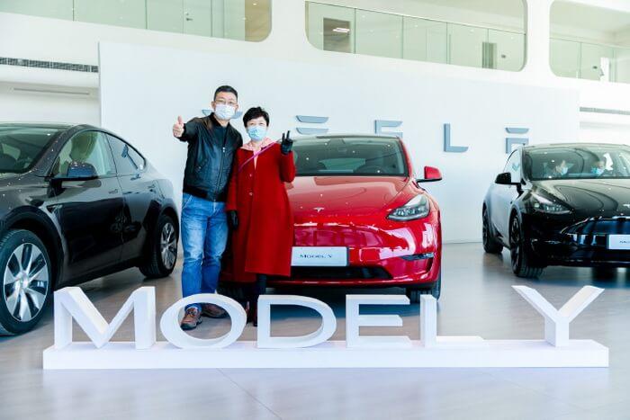 Tesla объявила о начале поставок китайской Model Y