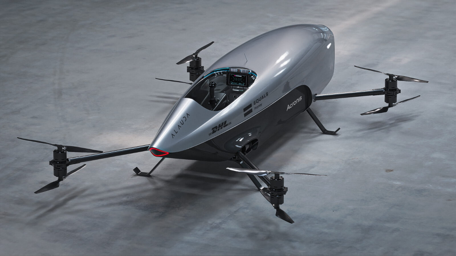 Airspeeder Mk3 — беспилотный летающий электрический гоночный автомобиль