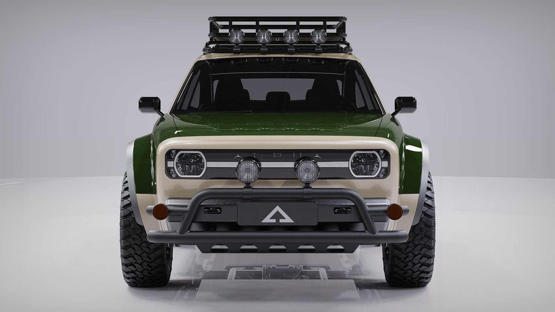 Alpha Motor презентовала электрическую новинку JAX CUV