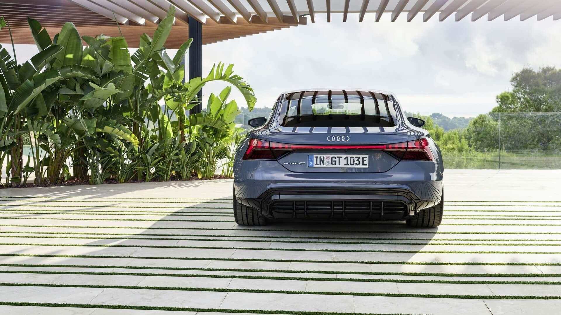 Фотография экоавто Audi e-tron GT - фото 7