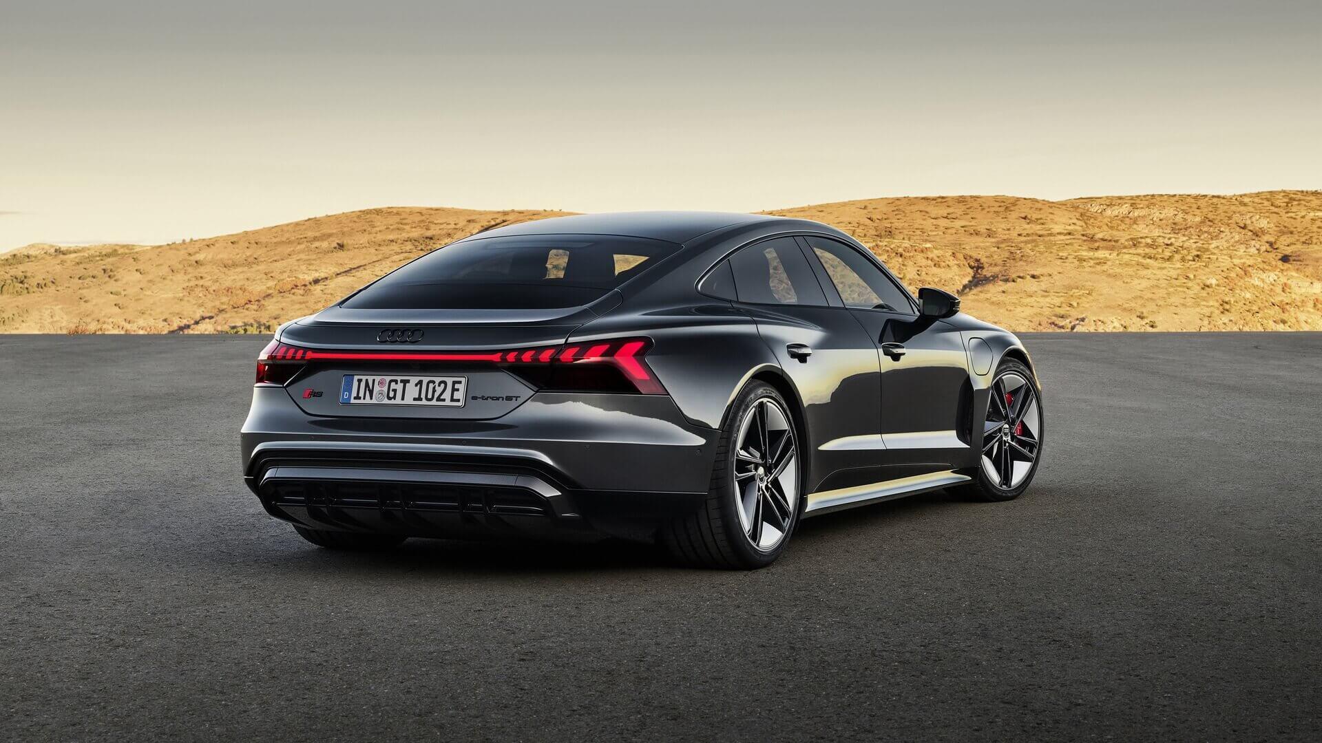 Фотография экоавто Audi RS e-tron GT - фото 10