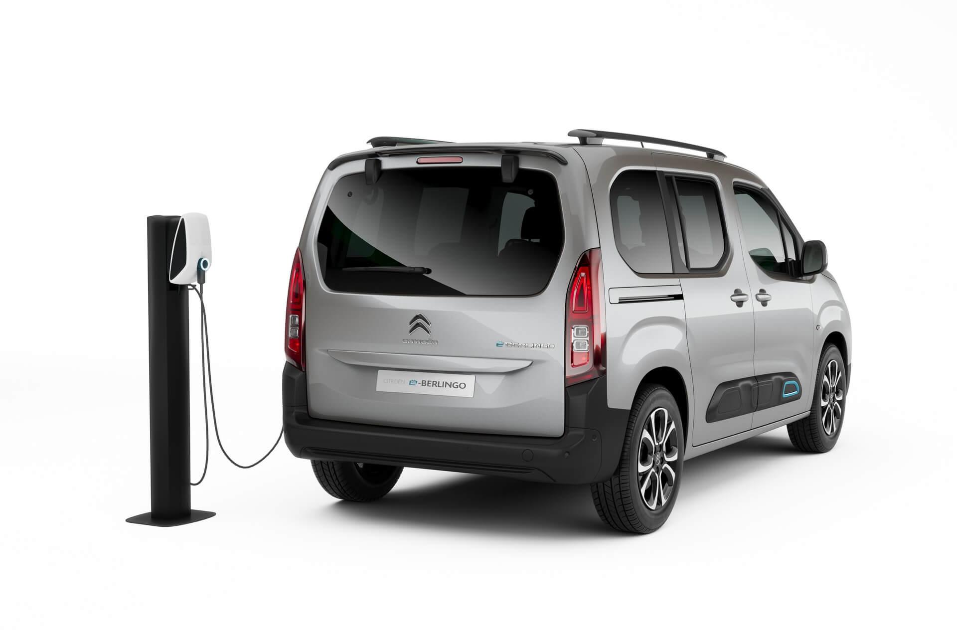 Пассажирский электрофургон Citroën ë-Berlingo