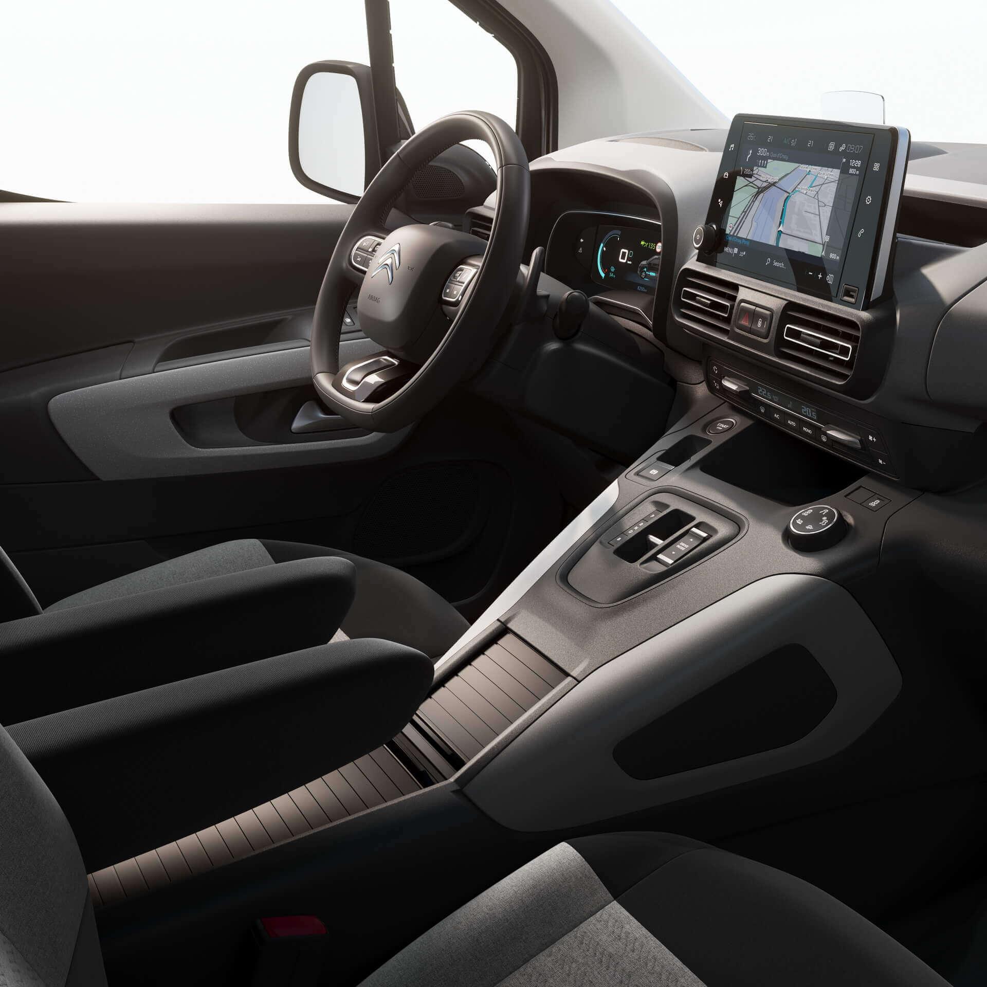 Интерьер Citroën ë-Berlingo