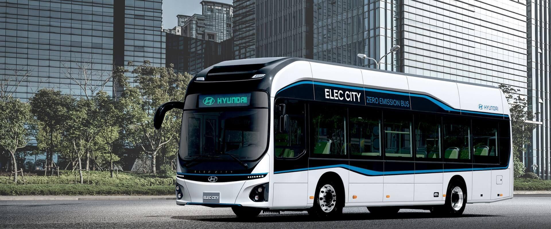 Электрический автобус Hyundai Elec City
