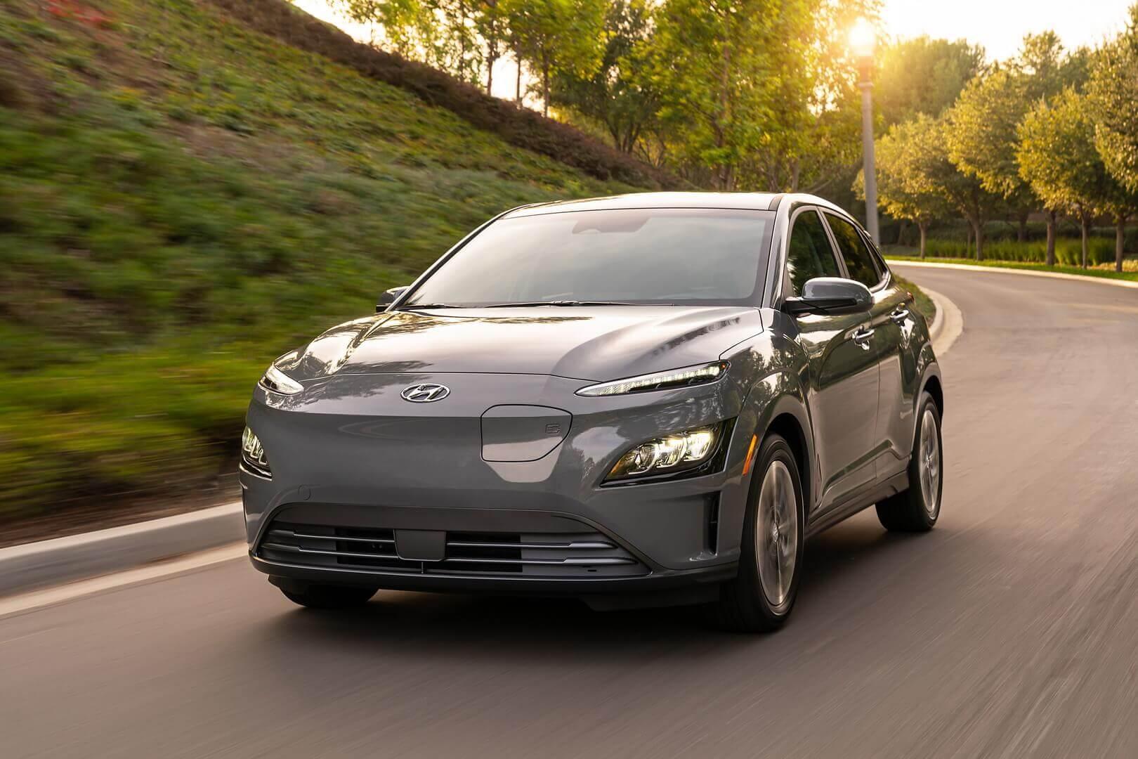 Hyundai обновил экстерьер и интерьер Kona Electric 2022 года