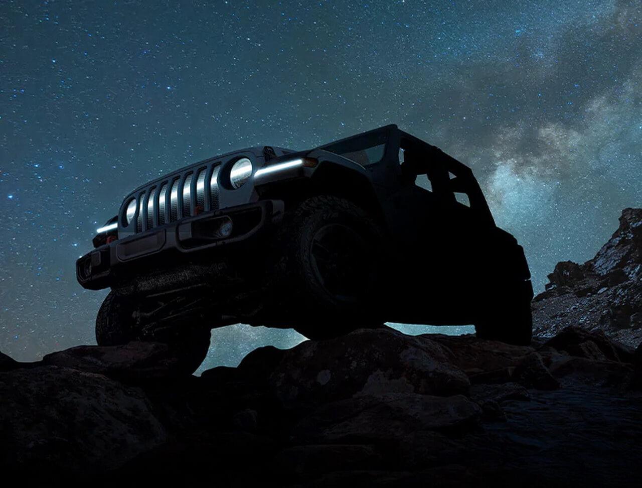 Jeep представляет тизер концепта электрического Wrangler