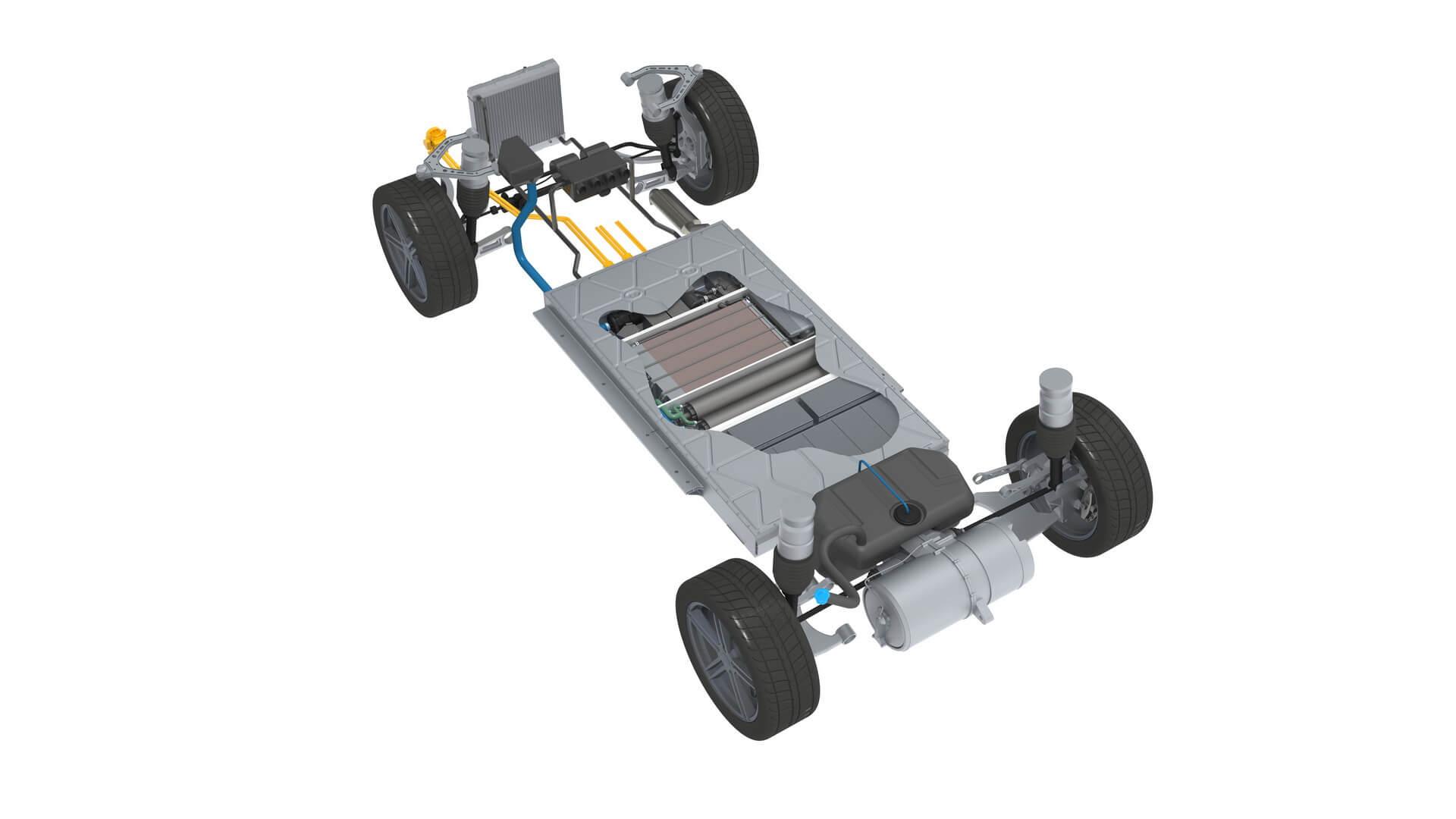 Karma разрабатывает автомобиль способный вырабатывать водород