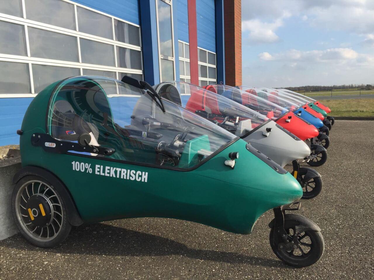 LEF: трехколесный микрокар с электроприводом и 3-мя вариантами батарей