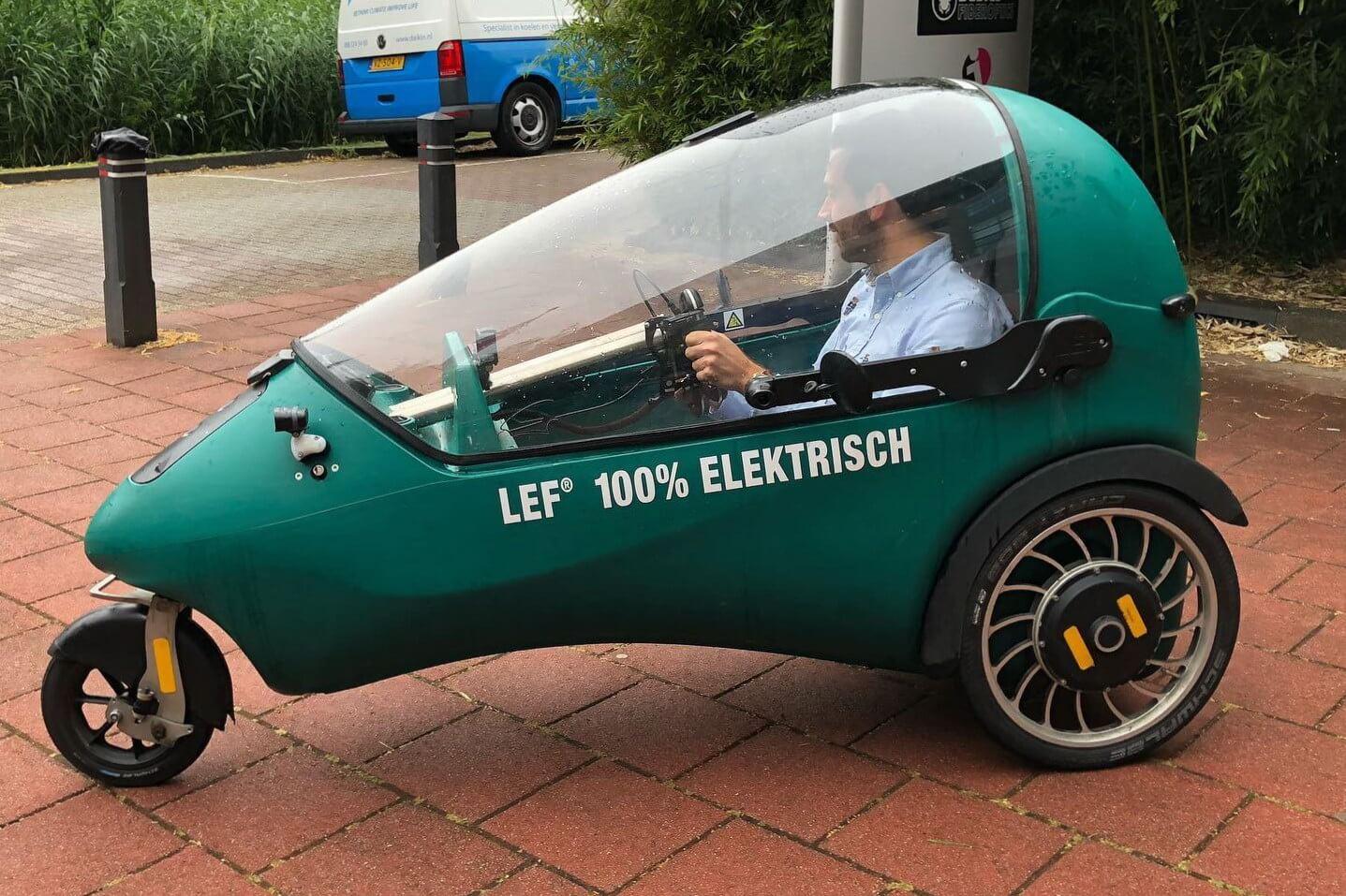 LEF: микро-электрокар для велосипедных дорожек сзапасом хода до90км