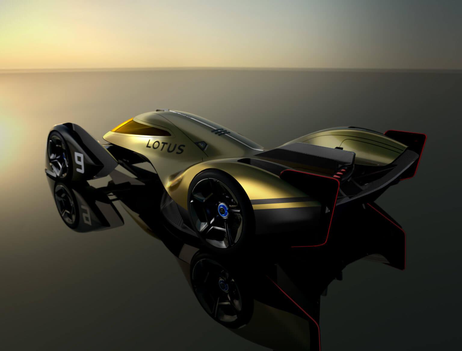 Lotus представил концепт электрического гиперкара E-R9