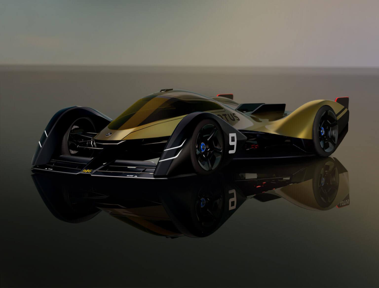 Lotus E-R9: концепт электрического гиперкара с изменяющимся кузовом