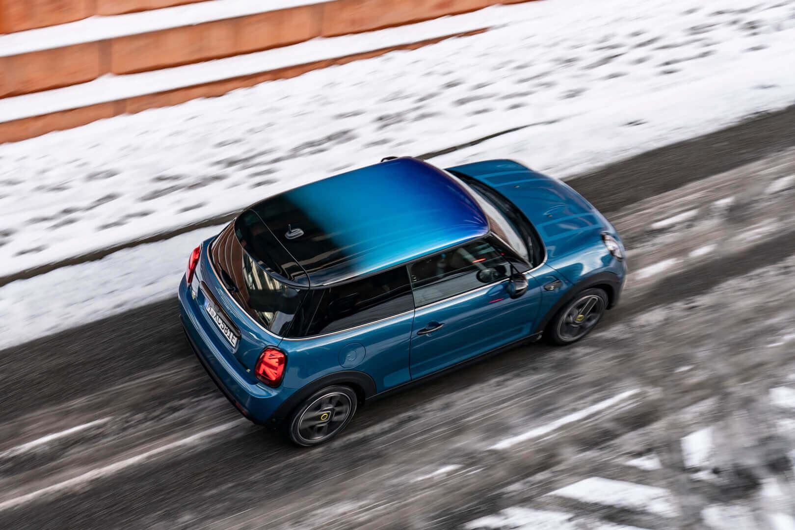 Электрический MINI Cooper SE специальной серии