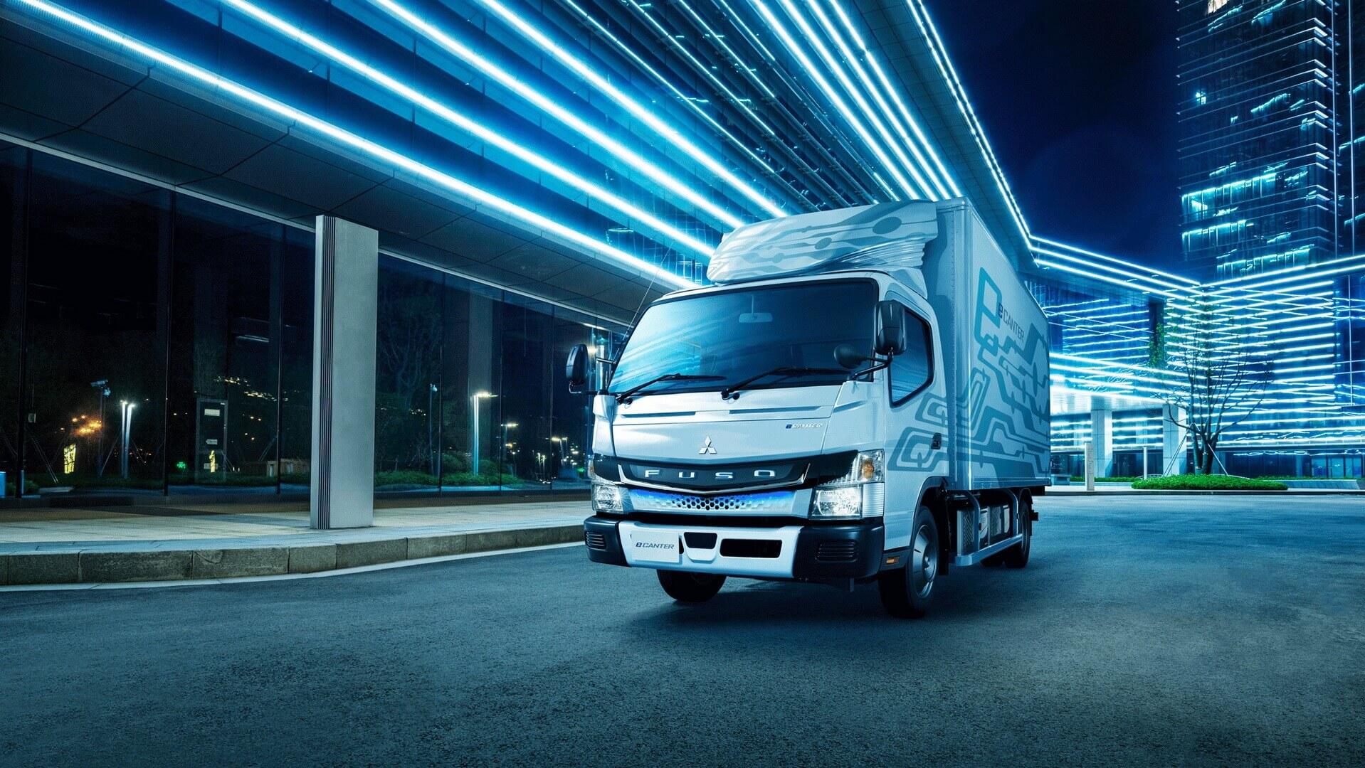 Электрический грузовик FUSO eCanter