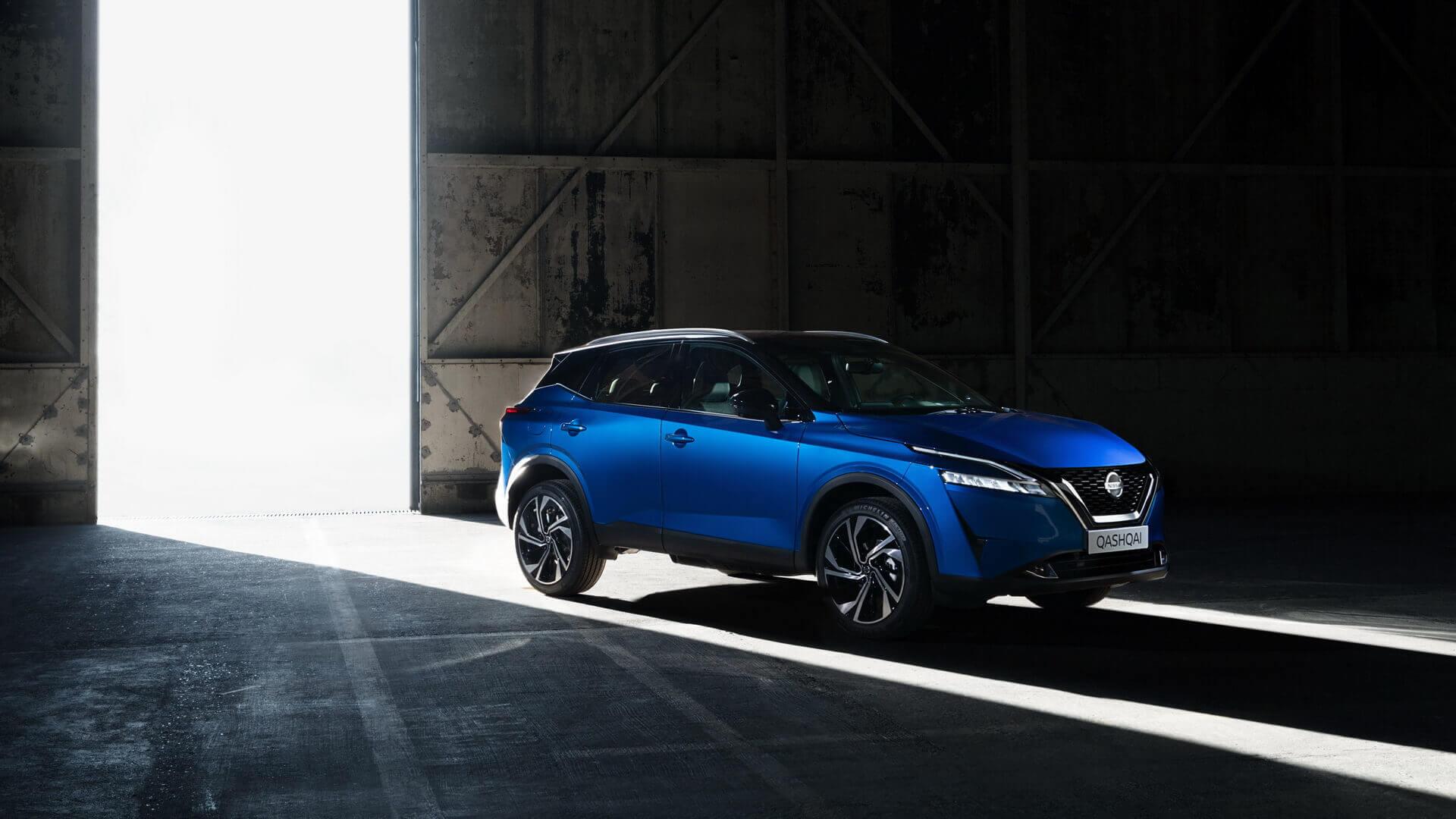 Новый Nissan Qashqai 2021 года доступен с мягким гибридным приводом