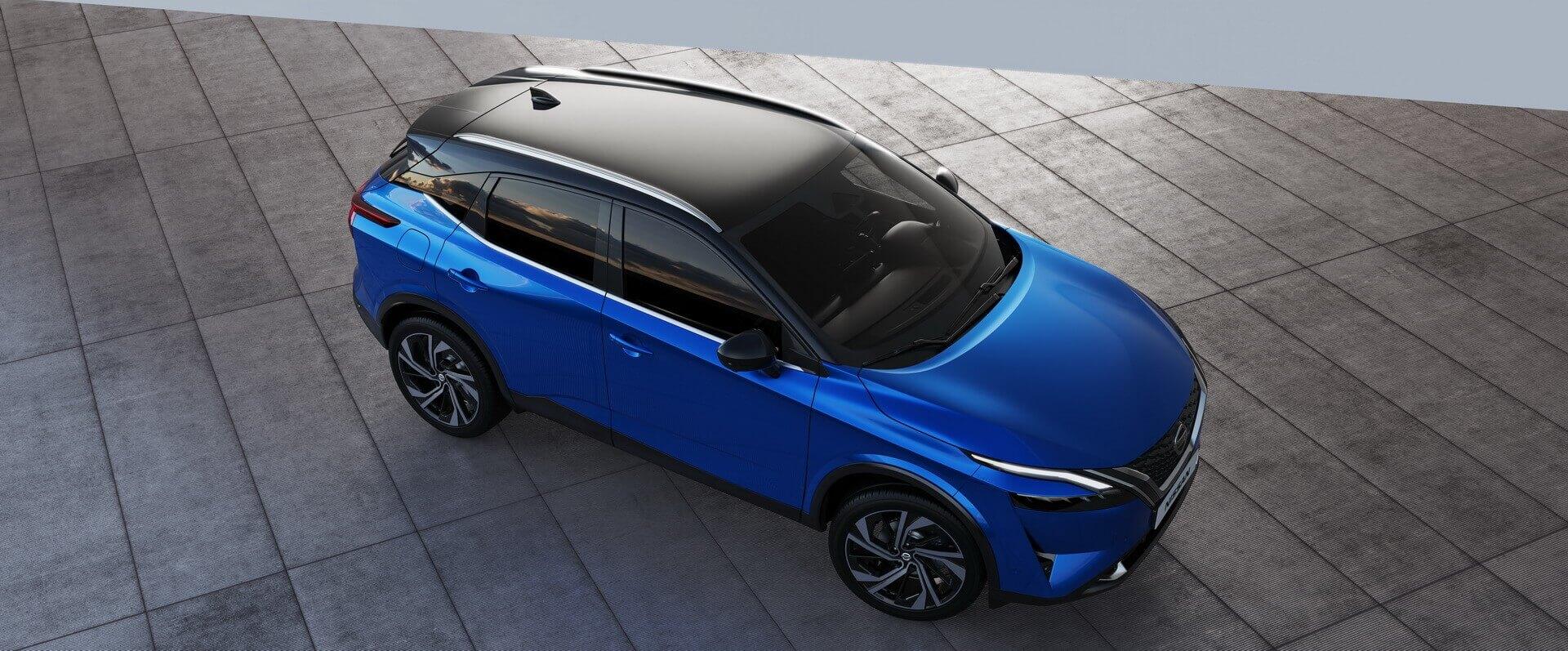 Гибридный Nissan Qashqai 2021 года