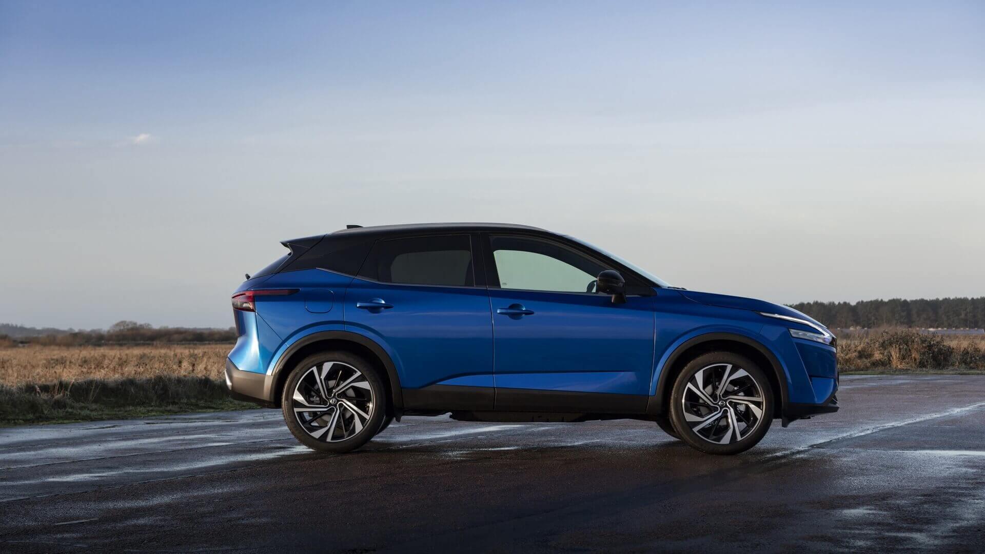 Экстерьер гибридного Nissan Qashqai 2021 года