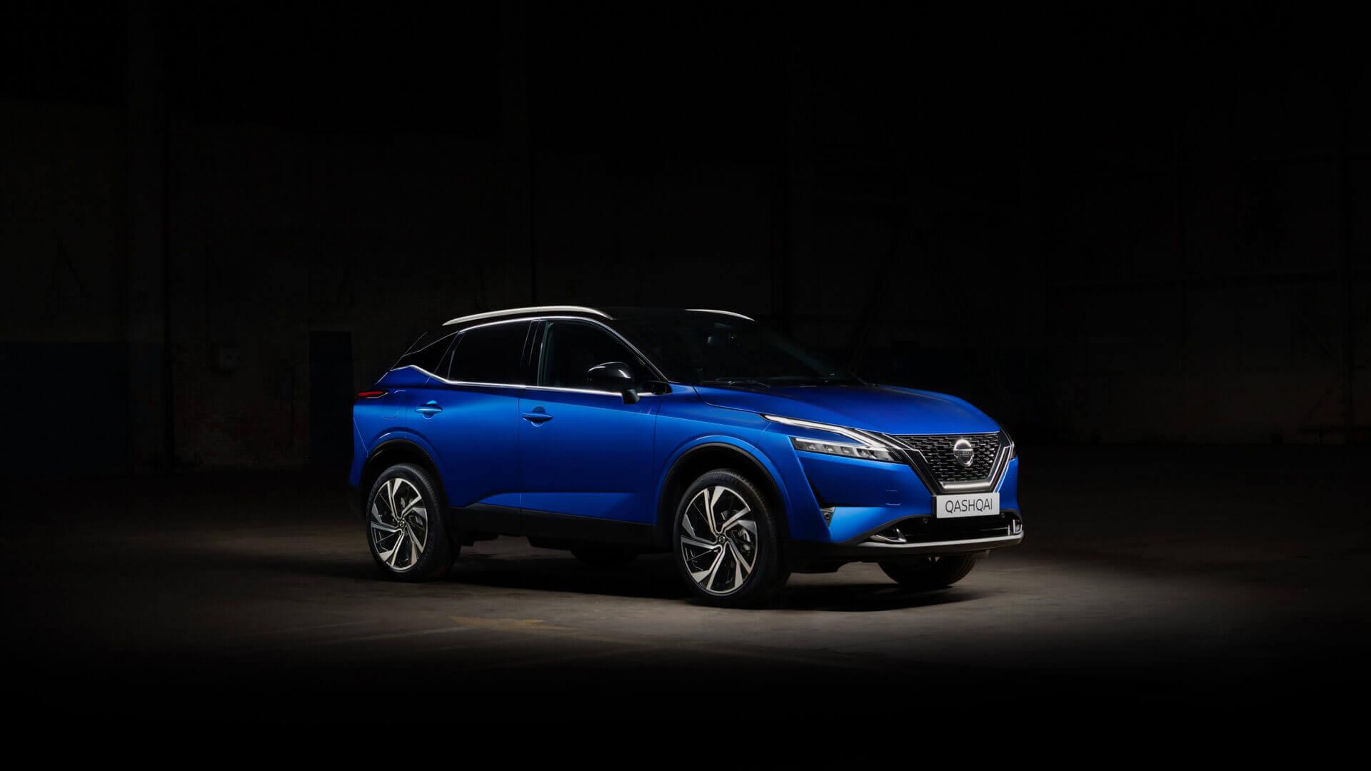 Nissan Qashqai 2021 года для европейского рынка получил инновационную систему e-POWER