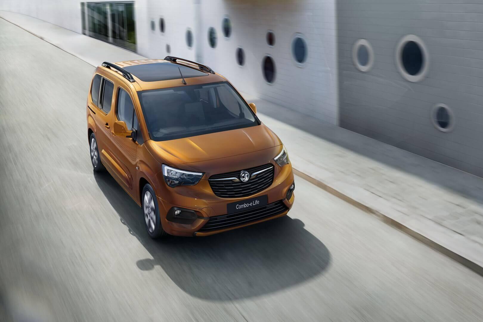 Электрический фургон Opel/Vauxhall Combo-e Life