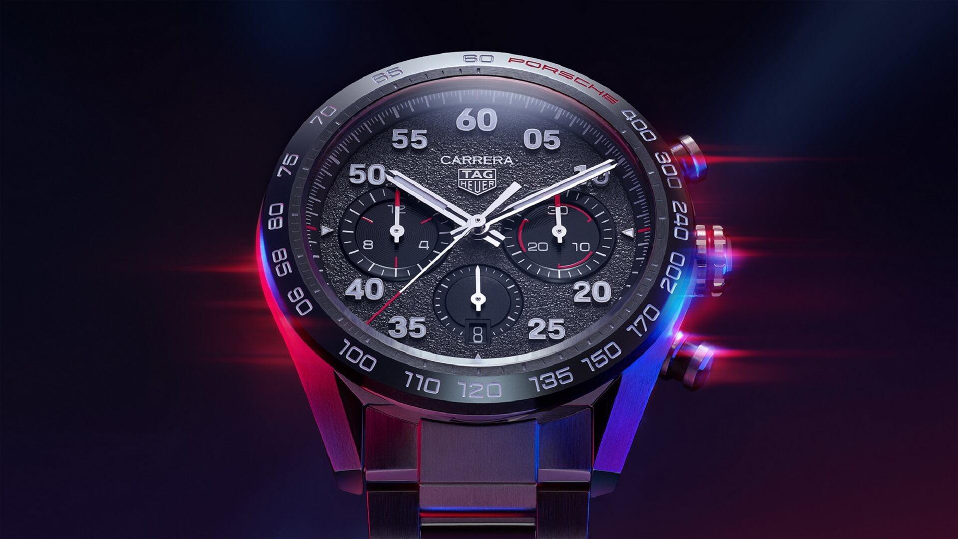Специальная серия хронографа TAG Heuer Carrera Porsche