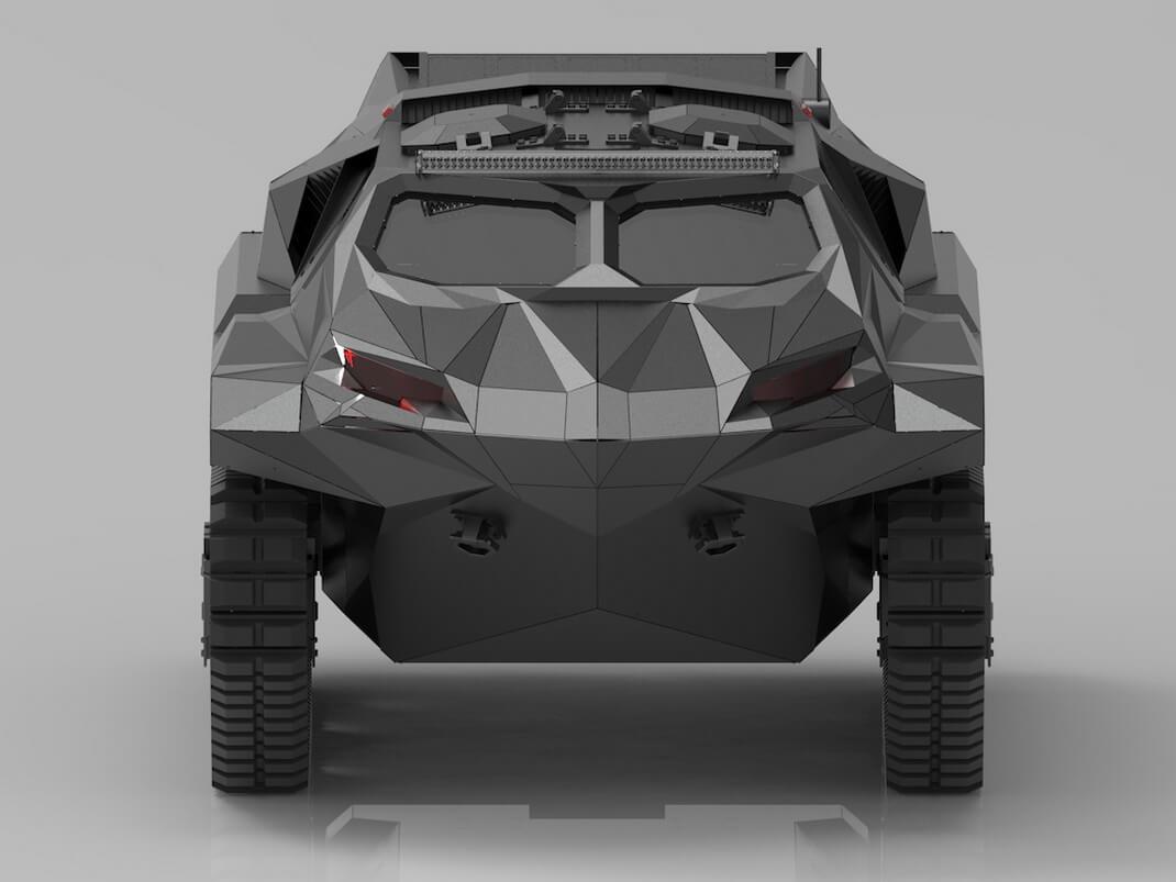 Гибрид автомобиля-амфибии STORM
