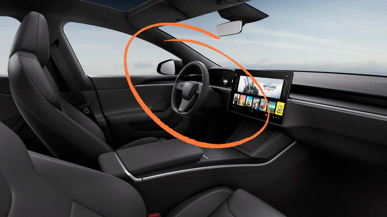 Tesla может опционально предложить для новых Model S/X стандартный руль
