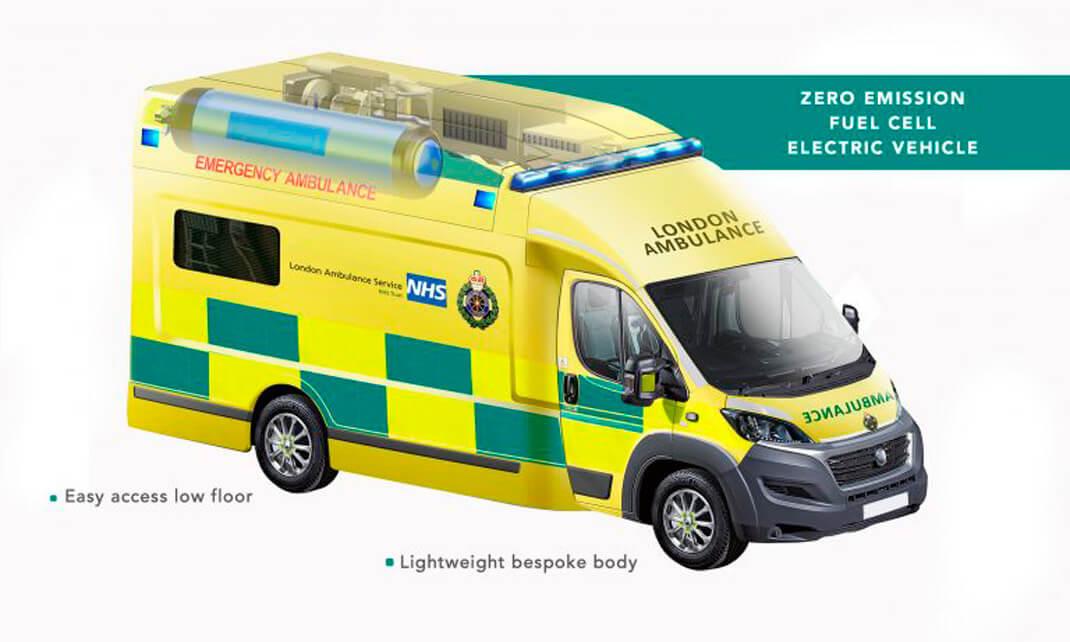 ZERRO: первая водородная машина скорой помощи в Великобритании