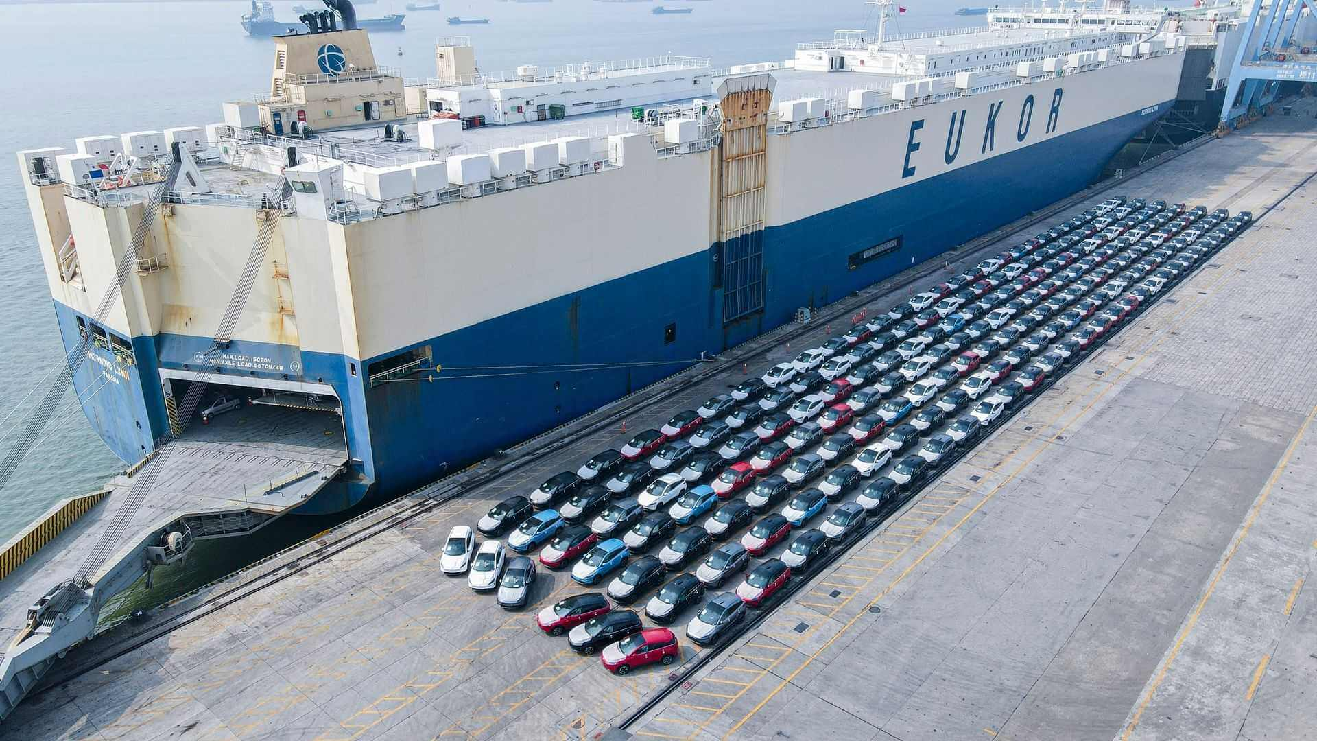 XPeng экспортирует больше электромобилей G3 в Европу
