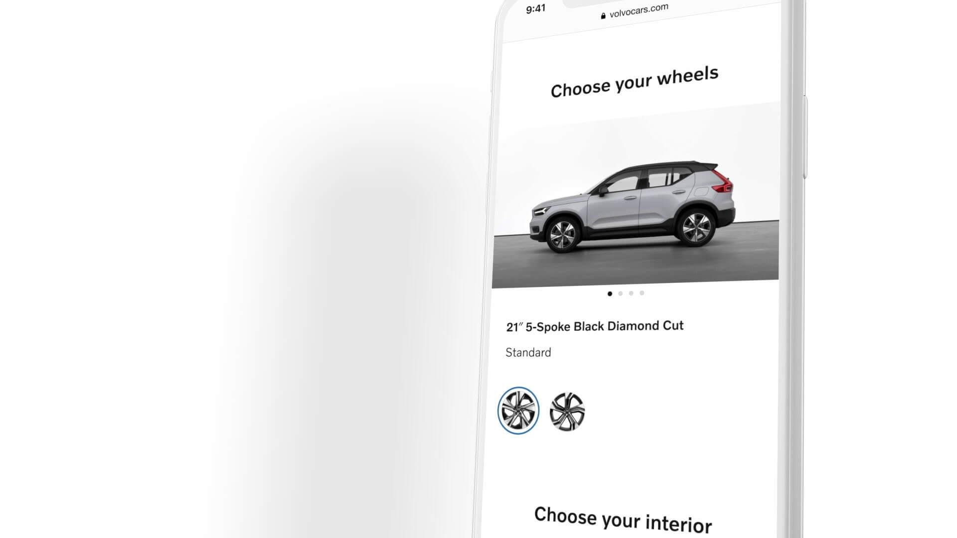 Все электрические модели Volvo будут доступны только в Интернете
