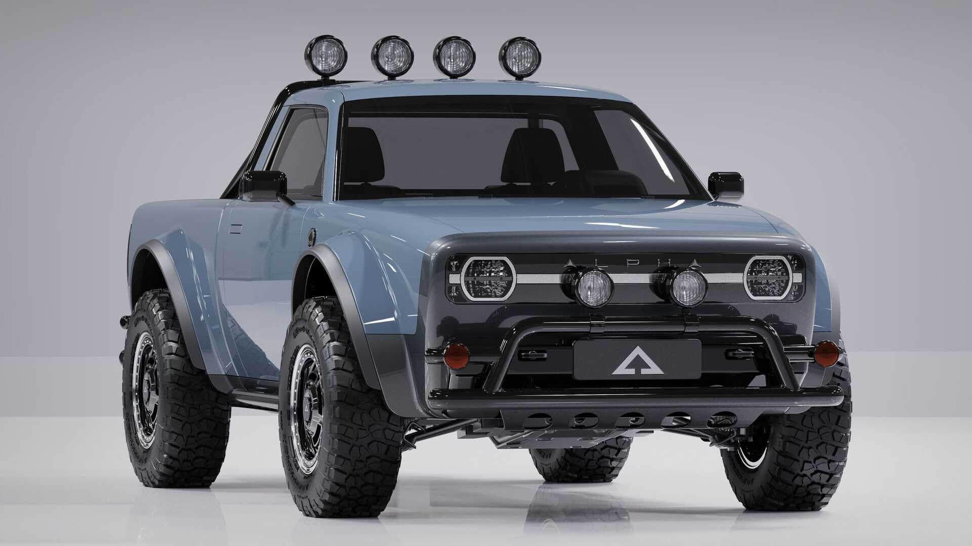 Alpha Motor представила свою третью модель в кузове пикап