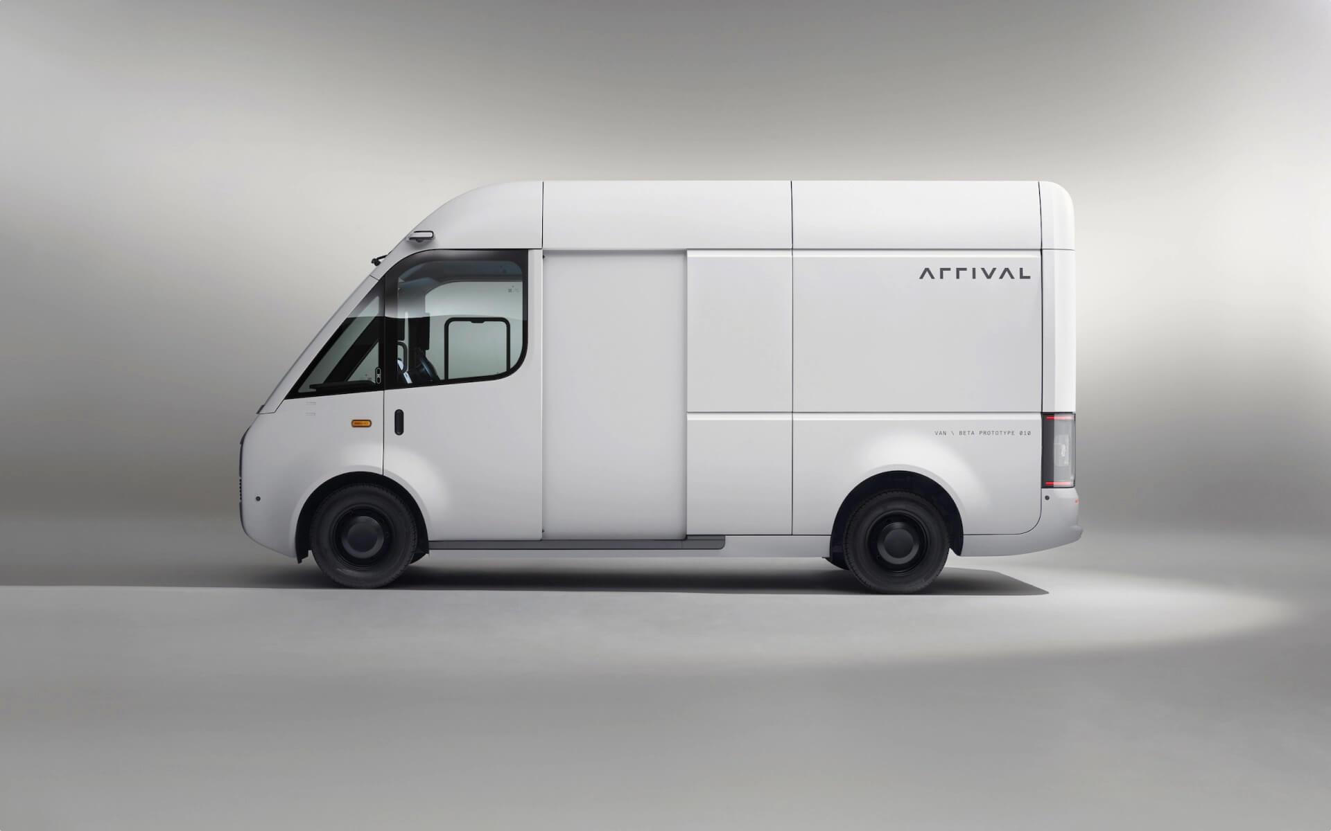 Электрический фургон Arrival готов к испытаниям