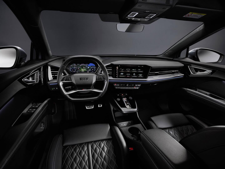 «Воздушный и прогрессивный» салон Audi Q4 e-tron