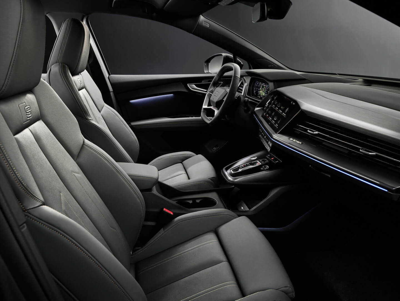 Интерьер Audi Q4 e-tron