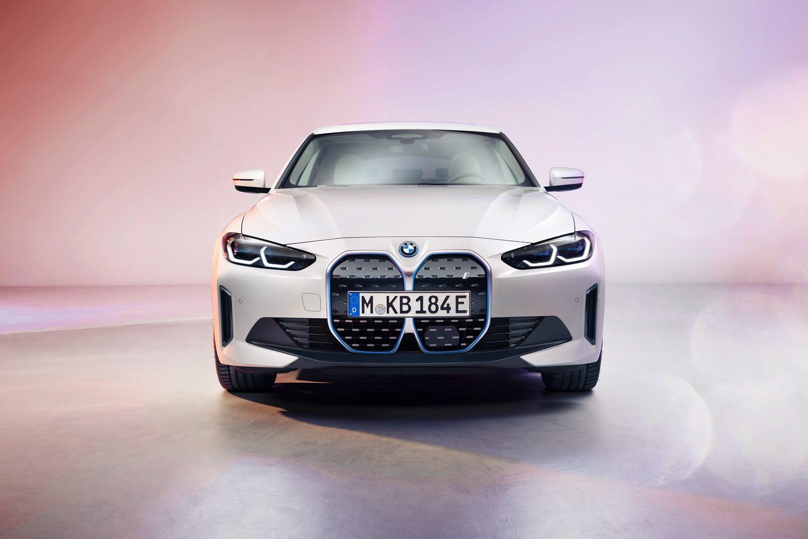 Электрический BMW — спортивный i4